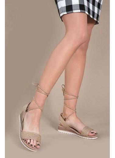 Vizon Ayakkabı Sandalet Renkli